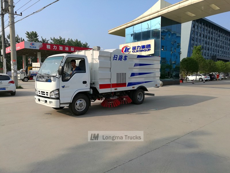 China Isuzu 600p Kehrmaschine