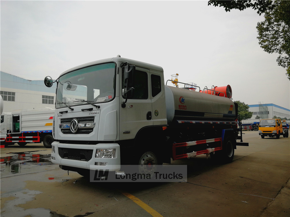 Dongfeng 10 cbm camion de suppression de la poussière