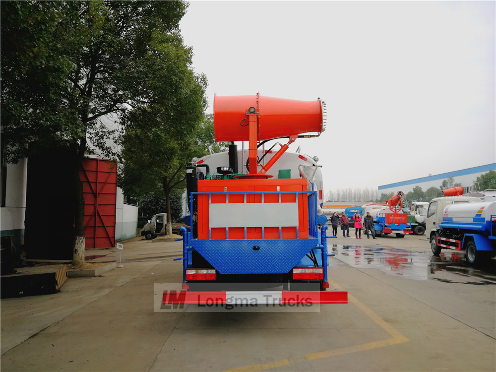 35m fog cannon on dust suppression truck