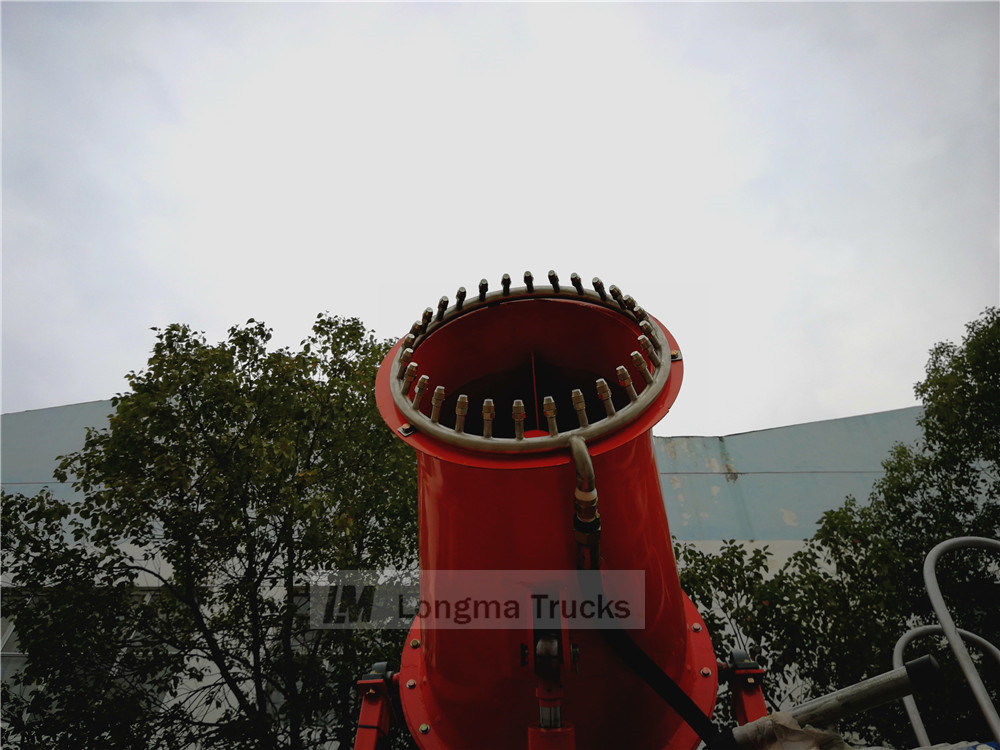 detailed picture of the fog cannon