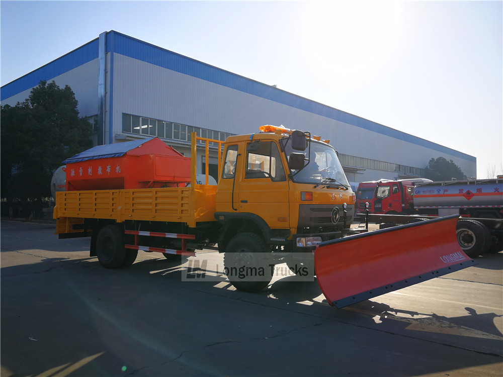 classical dongfeng snow remove truck