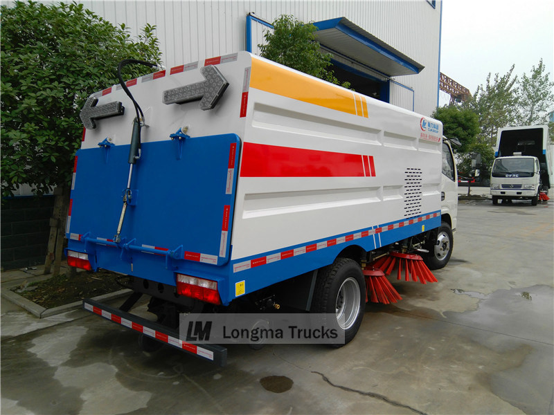 duolika Road sweeper truck