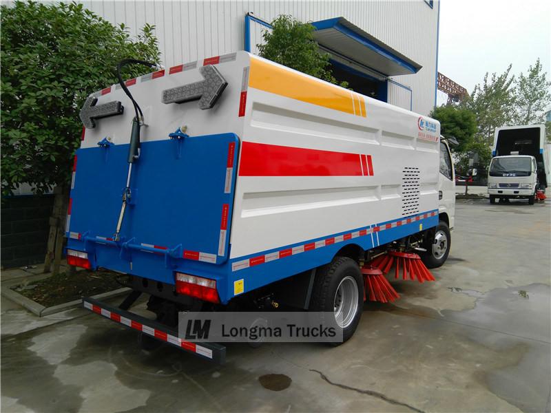 duolika Road sweeper truck
