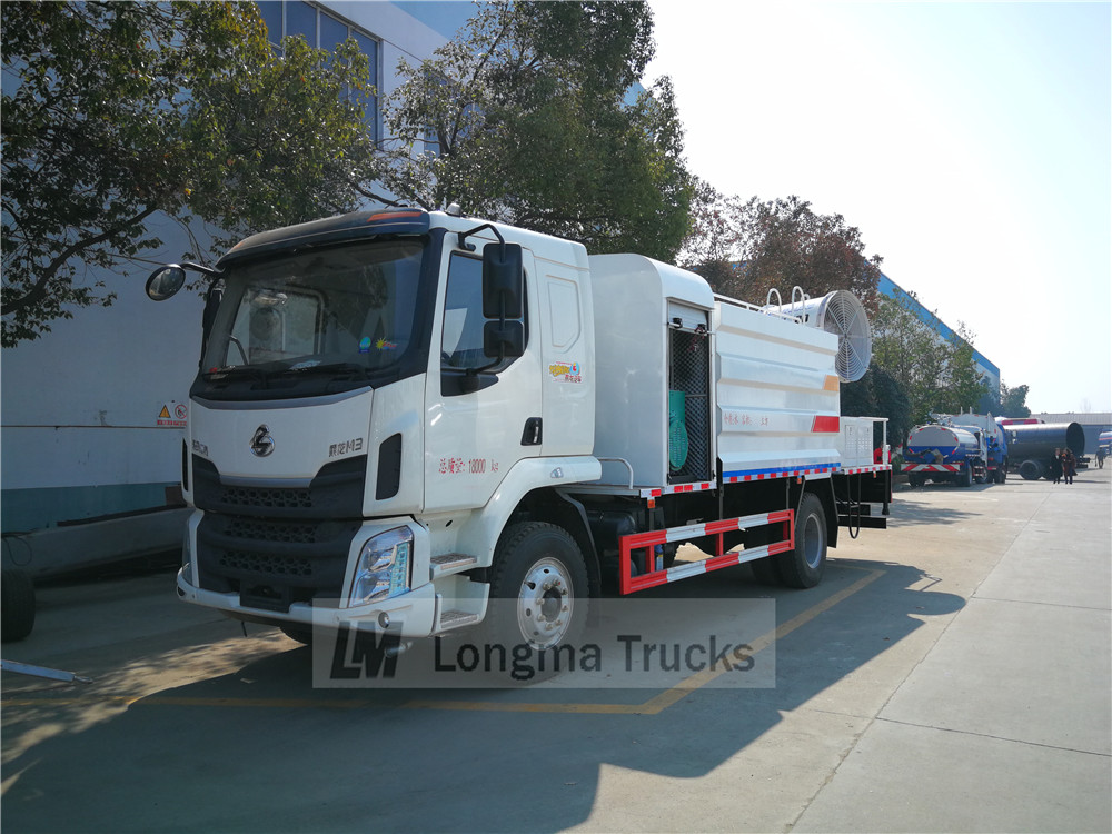 Dongfeng de camion de suppression de la poussière
