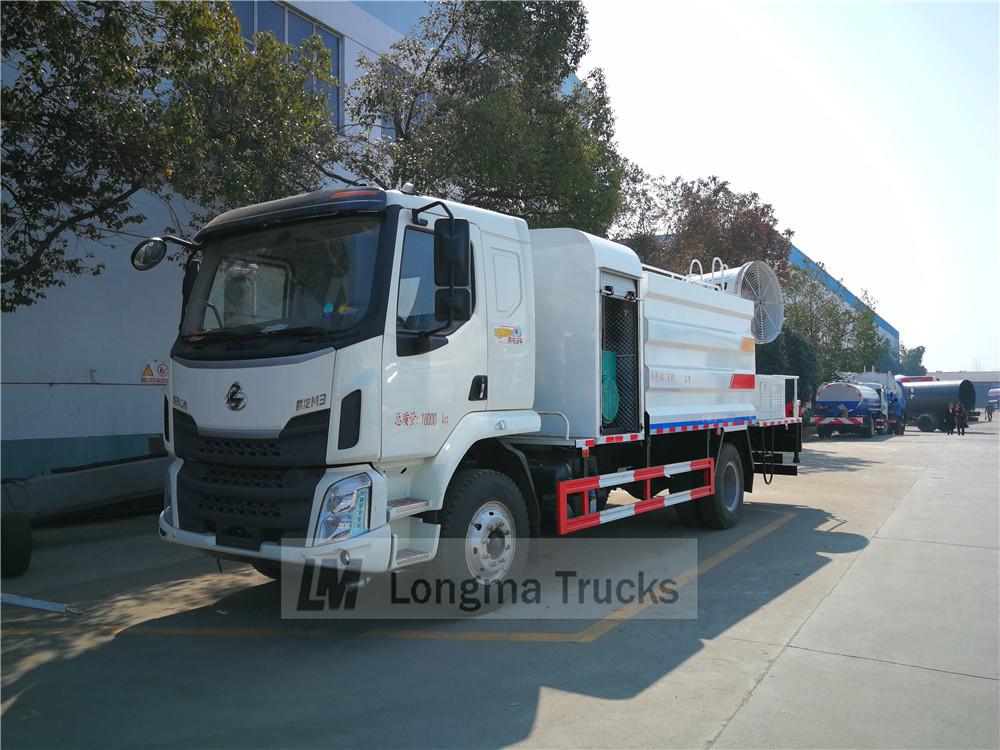 Dongfeng Liuqi camión de supresión de polvo