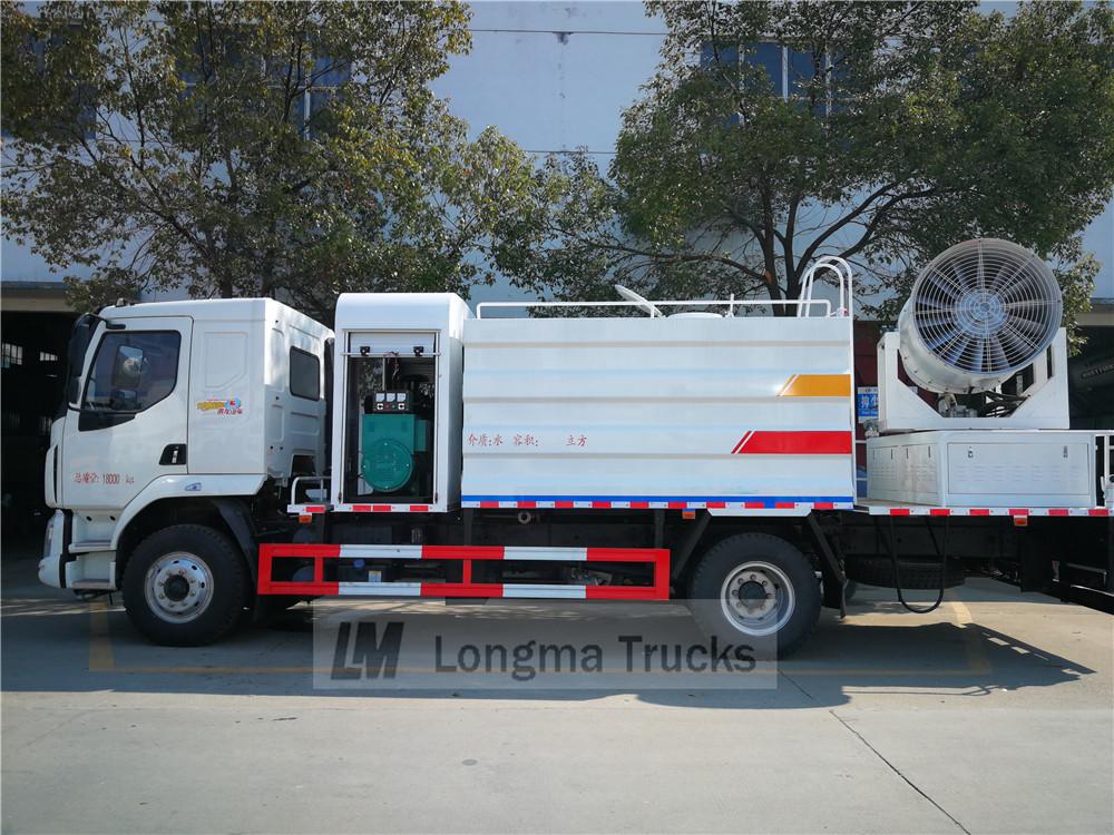 Dongfeng Liuzhou Motor y polvo del coche