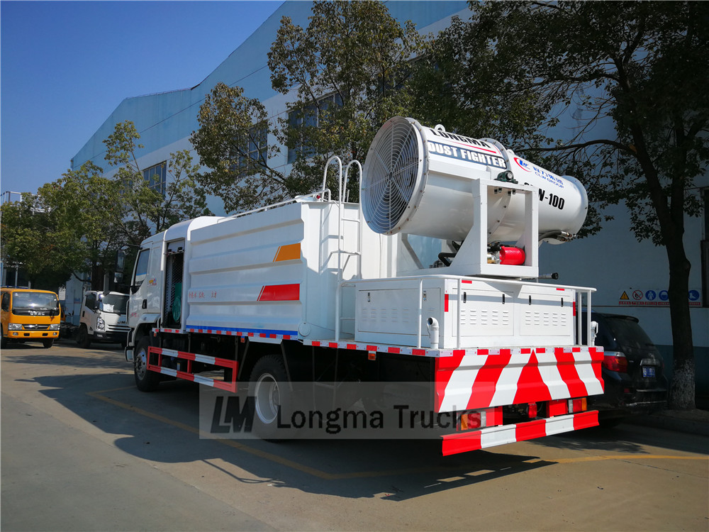 dongfeng clw 100 dust control vehicle