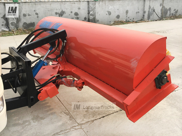 longma snow broom 2500 for vehicle