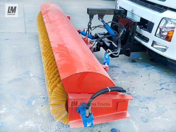 longma snow broom 2500 for trucks