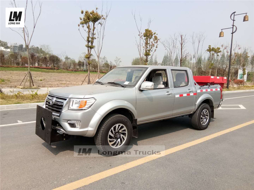 Dongfeng pickup with boss snow melting agent spreader