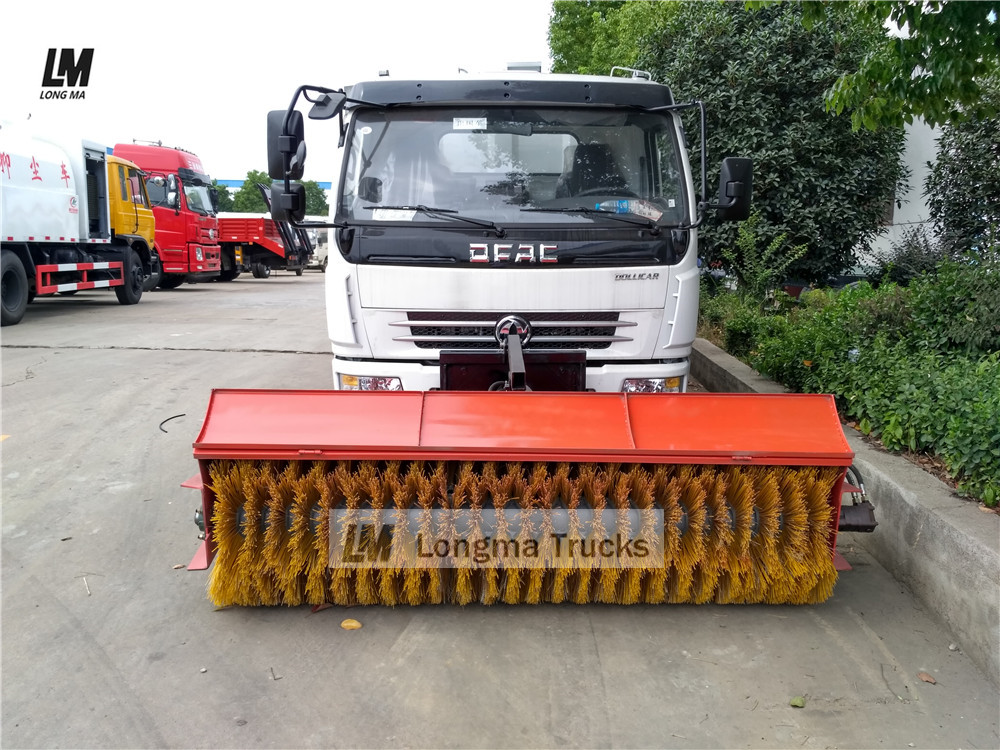 dongfeng suction sweeper truck