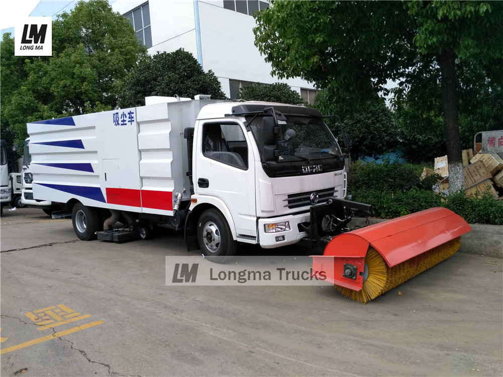 China vacuum sweeper truck