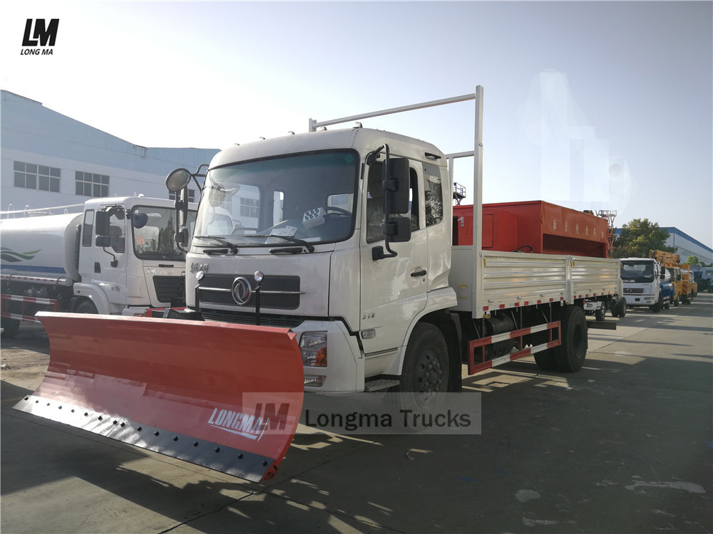dongfeng snow removal truck