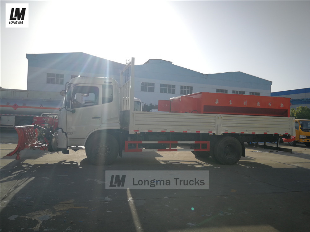 dongfeng snow removal vehicle