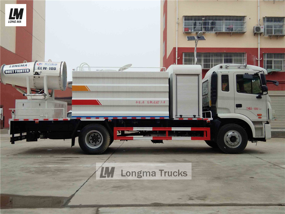 JAC dust suppression truck manufacturer