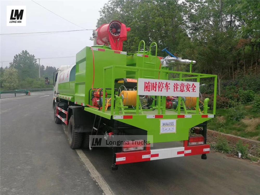 china pesticide spraying truck