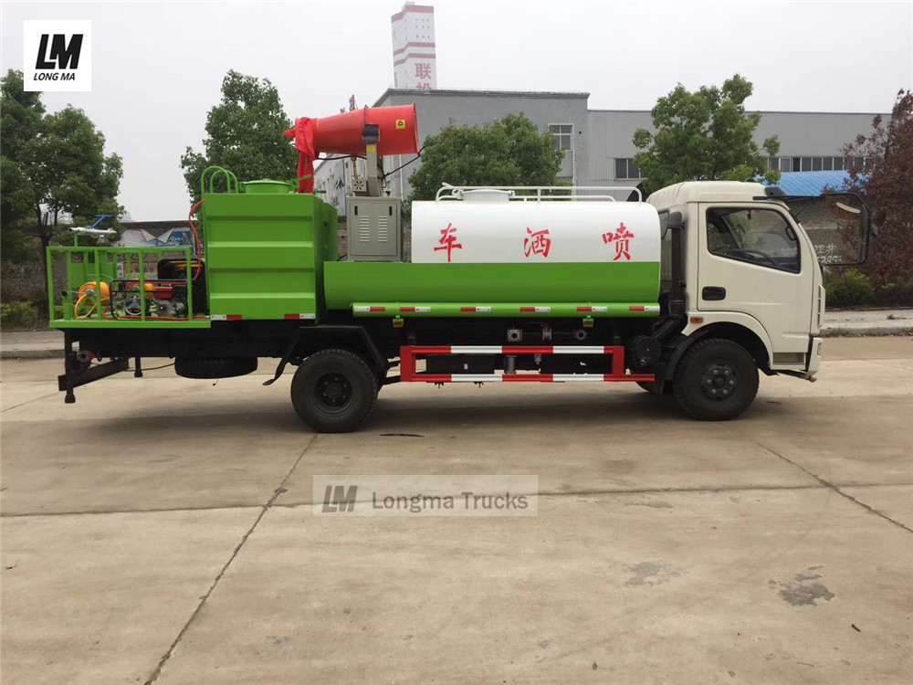 Myanmar import dongfeng multifunctional pesticide spraying vehicle