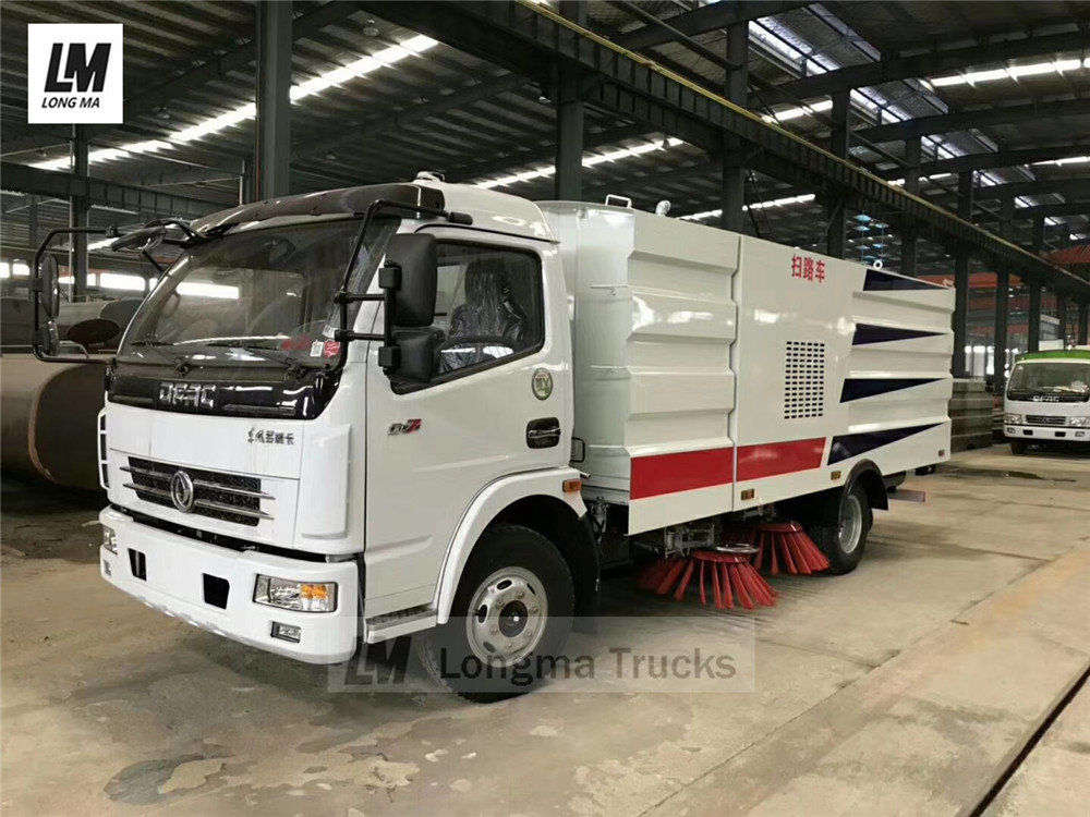 longma brand road sweeper truck