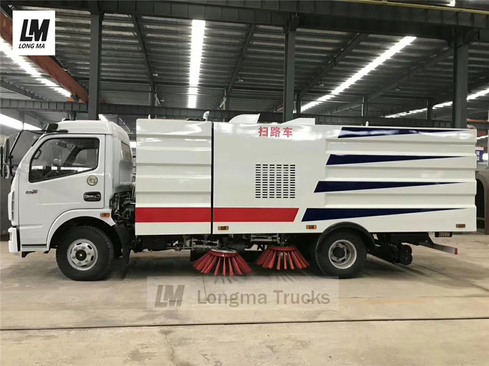 Dongfeng series road sweeper truck