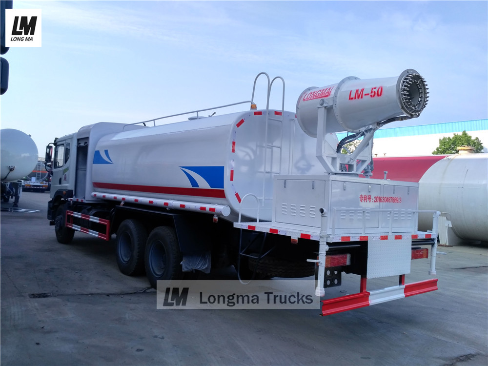 Dongfeng dust suppression truck from china