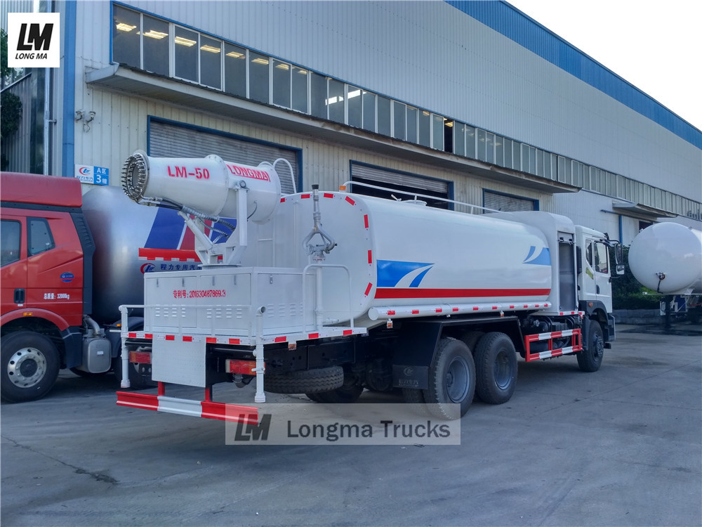 LM-50 fog cannon mounted on dongfeng water truck