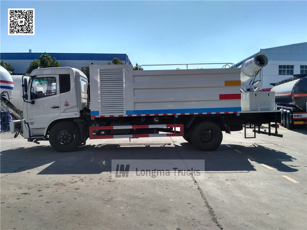 whole view of dust control vehicle made in china
