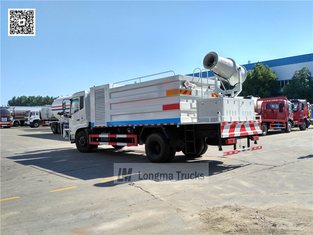 china multifunctional dust suppression truck