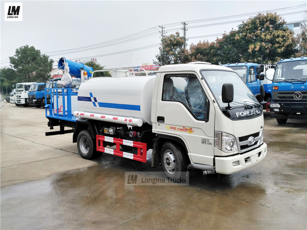 forland dust suppression truck