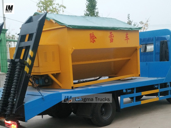 China longma 4 cbm snow melting agent spreader