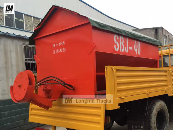 longma 4 cbm snow melting agent spreader