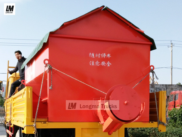 4 cbm snow melting agent spreader