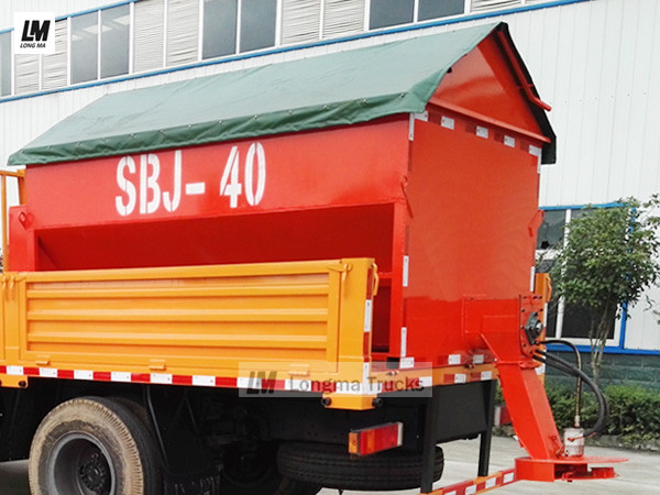 clw snow melting agent spreader