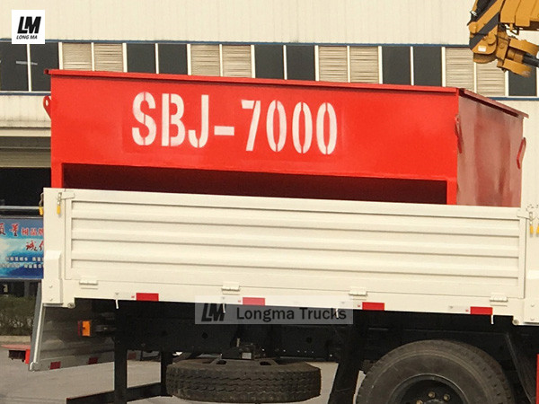 SBJ-7000 snow melting agent spreader