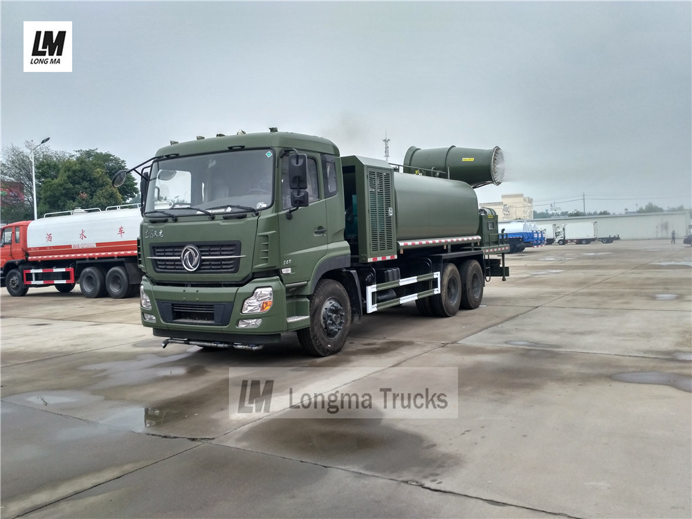 Dongfeng tianlong 15000 liters dust suppression truck