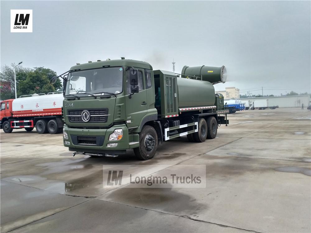 Tian Dongfeng 15000 los litros camión supresión de polvo