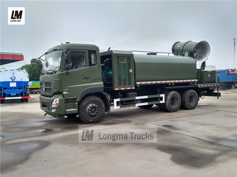 Dongfeng 15000 liters dust suppression truck