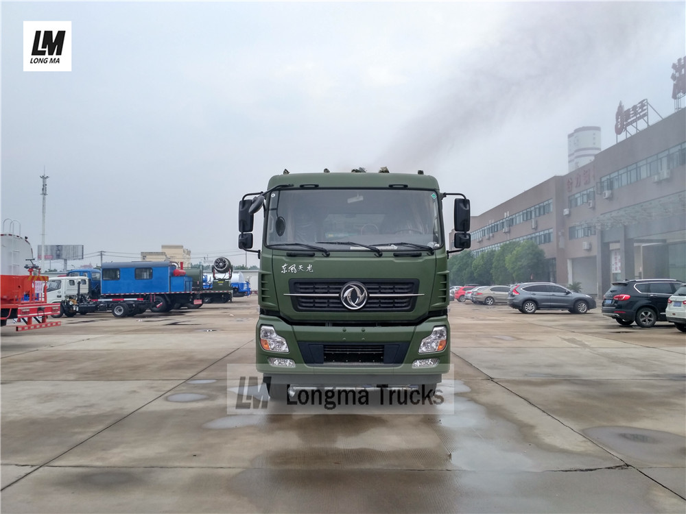China dust suppression truck manufacturer