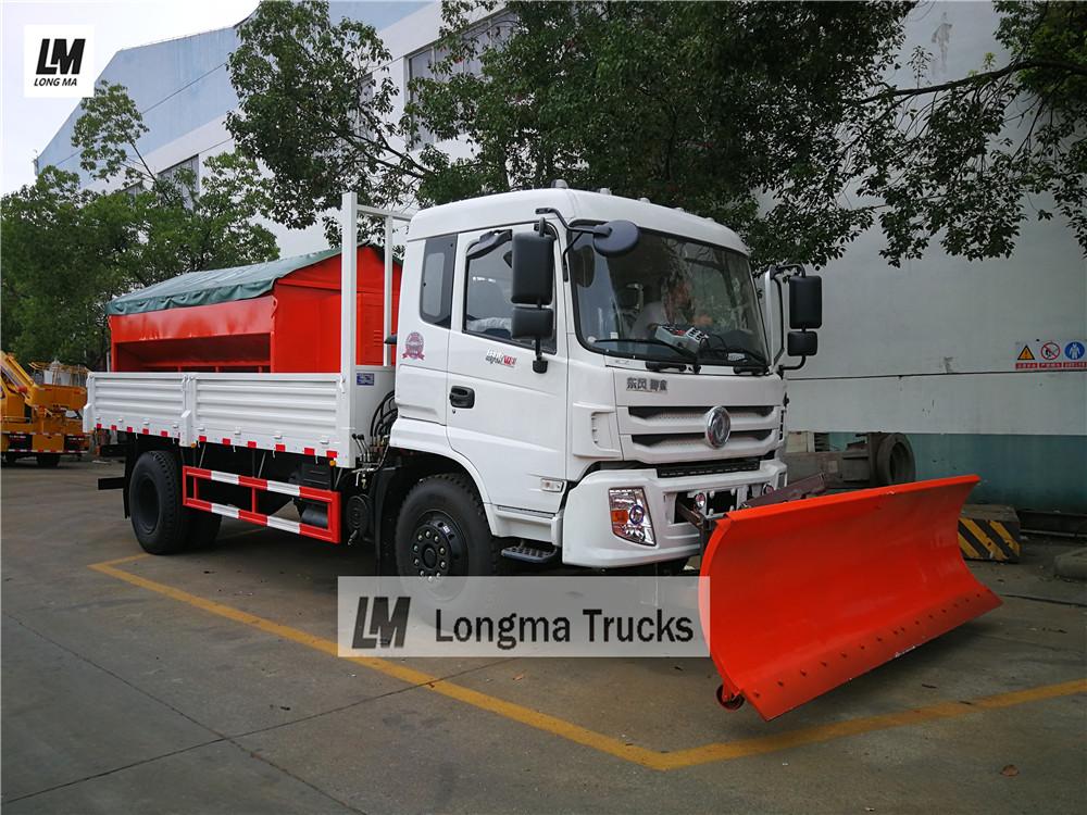 Dongfeng снег удалить грузовик с 3 метров снегоочиститель