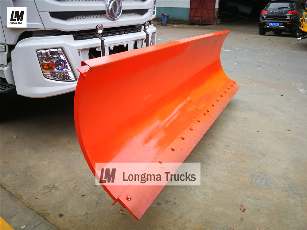 3 meters snow plough on dongfeng snow remove truck