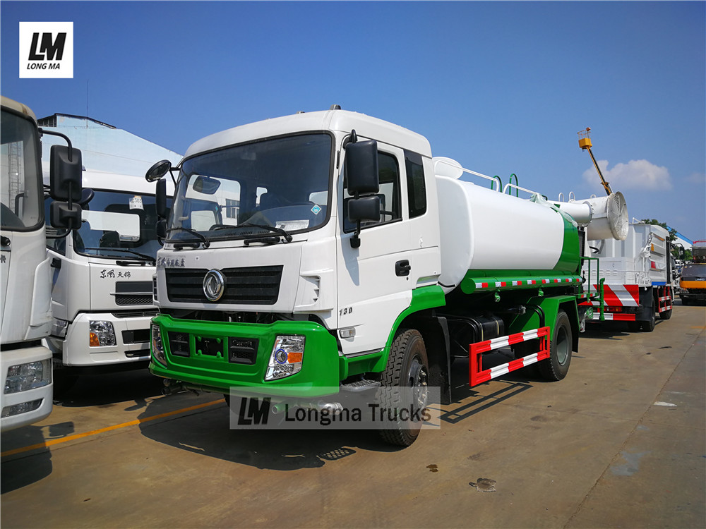 Dongfeng 10000 liters pesticide spraying vehicle