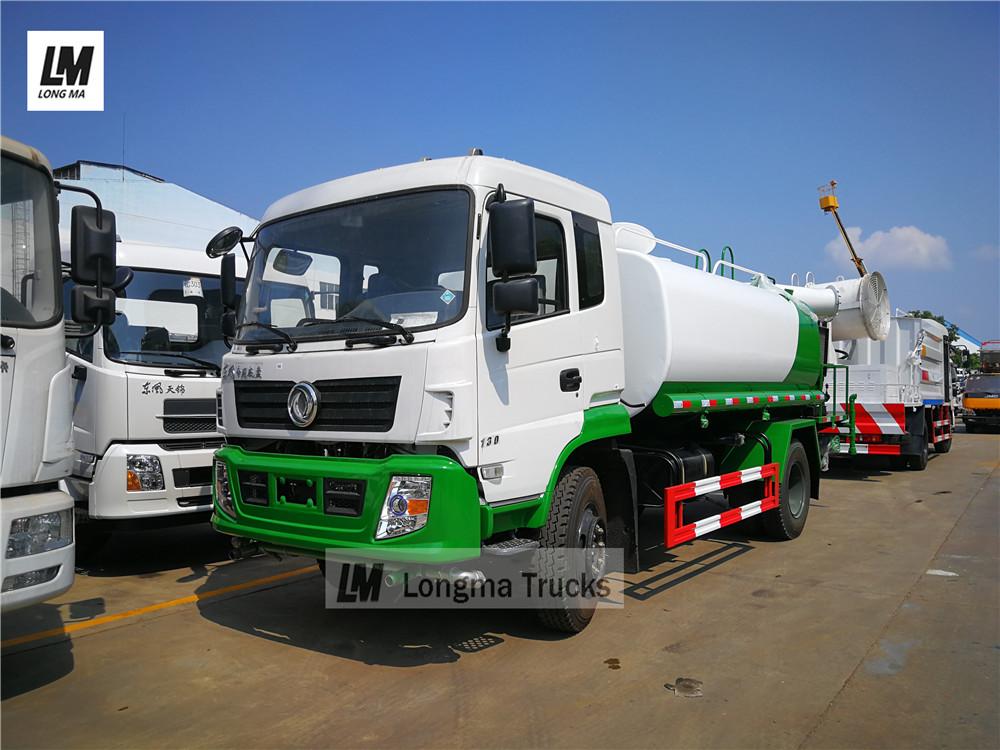 Dongfeng 10000 litros pesticida veículo pulverização