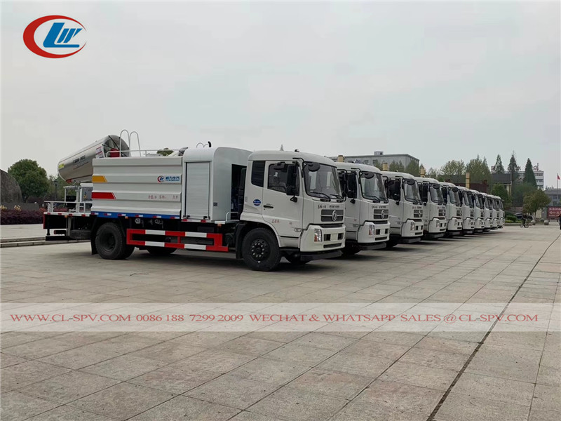 45 units dongfeng disinfection trucks to UAE