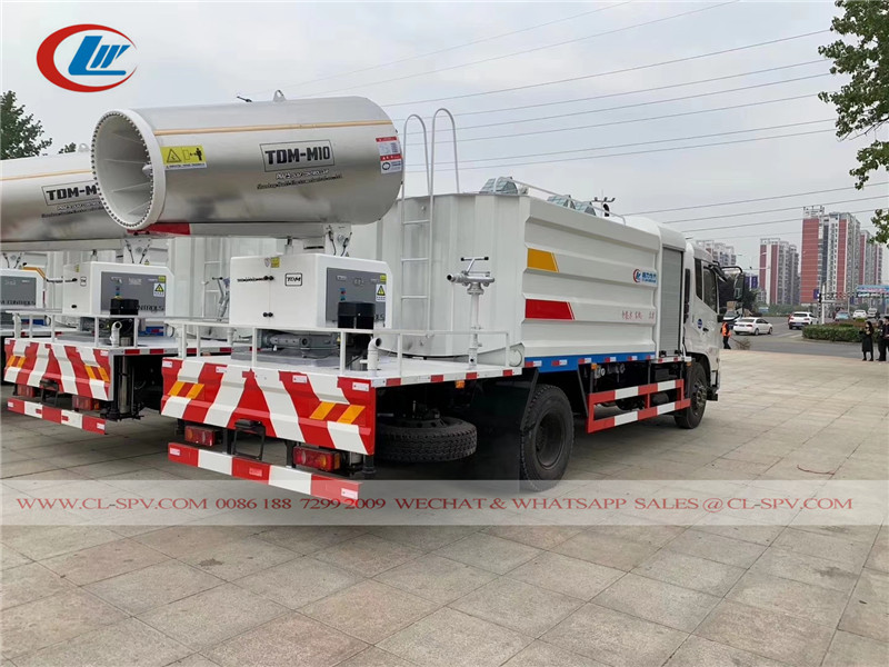 dongfeng disinfection trucks to UAE