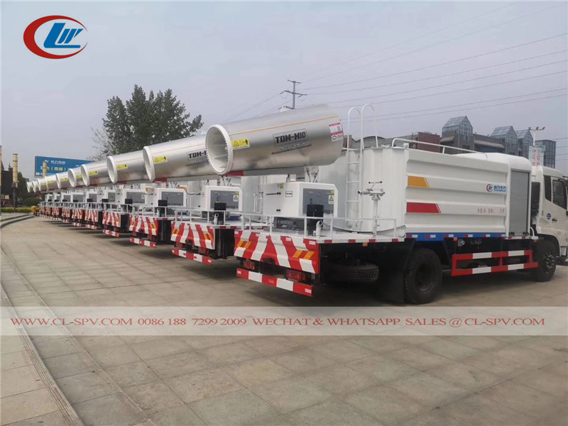 dongfeng disinfection trucks