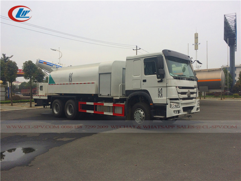 Howo 120 meters dust suppression truck