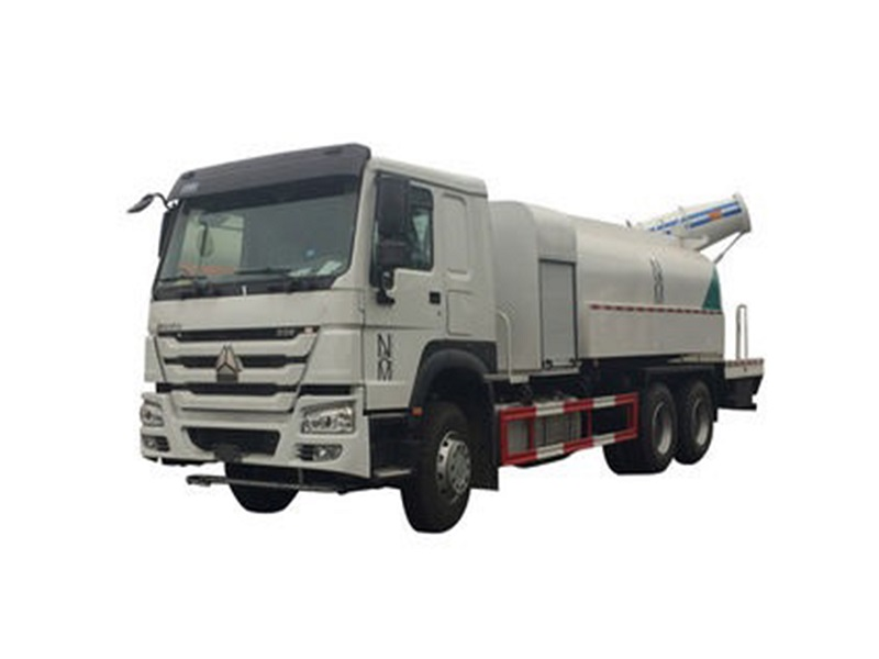 Howo 100 meters dust suppression truck