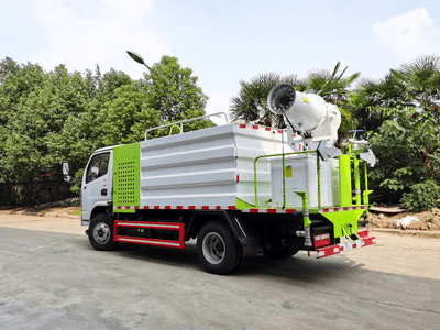 5 Fang Dongfeng Dust Suppression Truck Free Purchase Tax Price Fog Cannon Sprinkler Multifunctional Details Introduction Picture