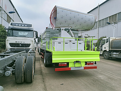 Dongfeng Tianlong 120m Fog Cannon Truck Price Free of Taxation Dongfeng Rear Shuangqiao Multifunctional Dust Suppression Sprinkler Manufacturer Wholesale Price Picture Picture