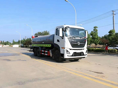 Dongfeng Tianlong 6x4 sprinkler with <a target='_blank' href='http://www.longmatruck.com/dust-control-equipment/fog-cannon'>fog cannon</a> truck